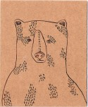 cardboard bear