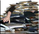 overworked knowledge worker